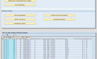 inconso KEP-Cockpit für SAP-Anwendungen
