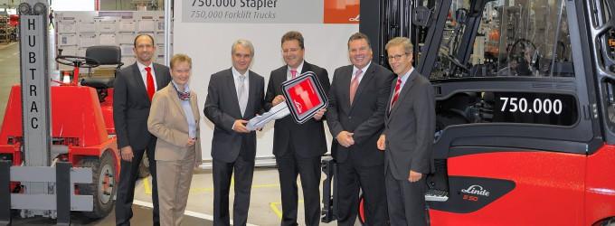 750.000 Linde-Stapler gebaut