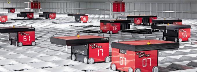 Swisslog realisiert AutoStore-Lager für Globus