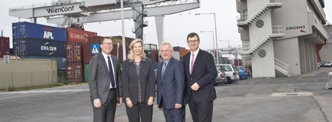 Wiener Lokalbahnen Cargo: Neuer Firmensitz am Hafen Wien