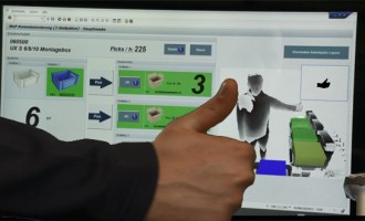 PICK BY MOTION – Live erleben und ausprobieren bei IGZ: Gestengesteuerte Kommissionierung mit SAP E