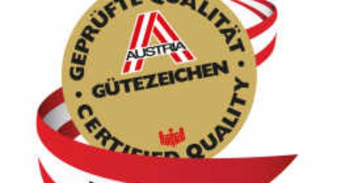 Austria Gütezeichen Musterkatalog 2016 – 70 Jahre