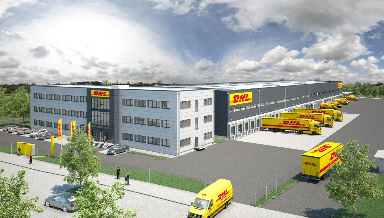 neues dhl verteilzentrum in wien logistik express newsportal. Black Bedroom Furniture Sets. Home Design Ideas