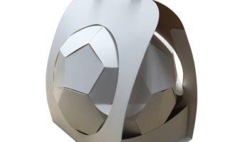 """CARDBOX Packaging präsentiert """"Verpackungs-Fußball"""" zum Start der WM-Qualifikation"""