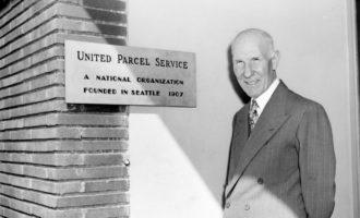 UPS Gründer James E. Casey in die Logistics Hall of Fame aufgenommen