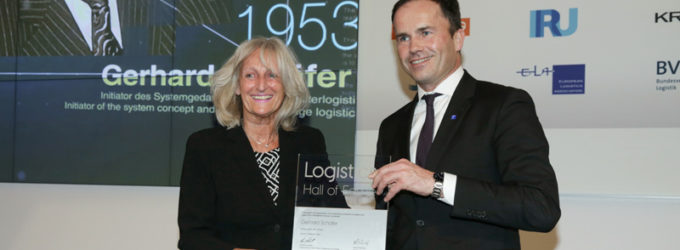 Gerhard Schäfer wurde in die Logistics Hall of Fame® aufgenommen