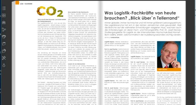 """Was Logistik-Fachkräfte von heute brauchen?  Den """"Blick über den Tellerrand""""."""