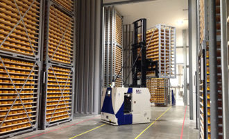 BA Systèmes completes AGV automation of FrieslandCampina's 2nd cheese factory in Gerkesklooster