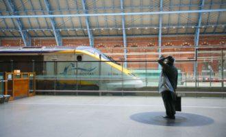 St Pancras International Station – Hochgeschwindigkeit bei Zügen und WLAN