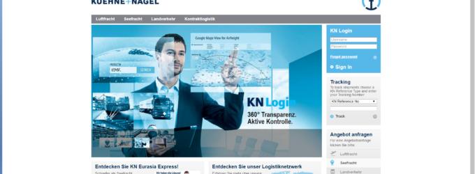 KN Eurasia Express: Neuer Bahntransport-Service zwischen China und Europa Hamburg