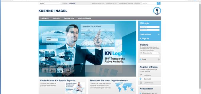 Kühne + Nagel wird globaler Transportdienstleister der Grünenthal Gruppe