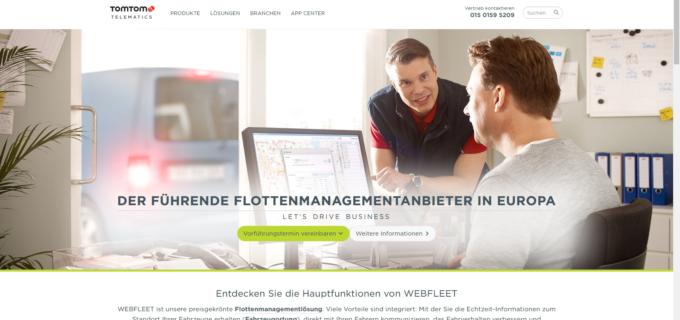 TomTom Telematics Händlernetzwerk