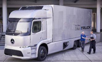 Kleinserie Mercedes-Benz Urban eTruck mit Elektroantrieb startet 2017