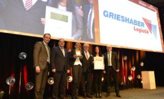Claas verleiht Grieshaber den Supplier Award 2016