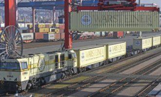 Hamburger Hafen erzielt Rekordergebnis beim Gütertransport auf der Schiene