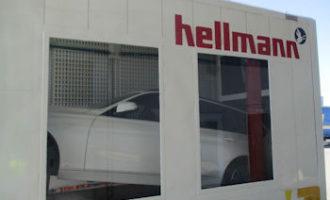 Hellmann etabliert neue Verladetechnik für Komplettfahrzeuge