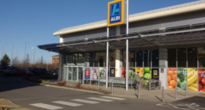 Aldi up to fifth in grocery market