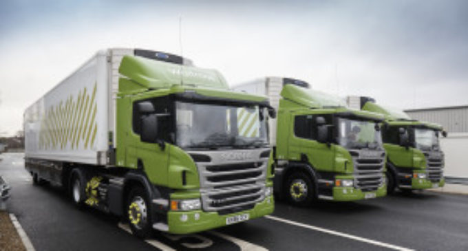 Waitrose launches biofuel truck fleet
