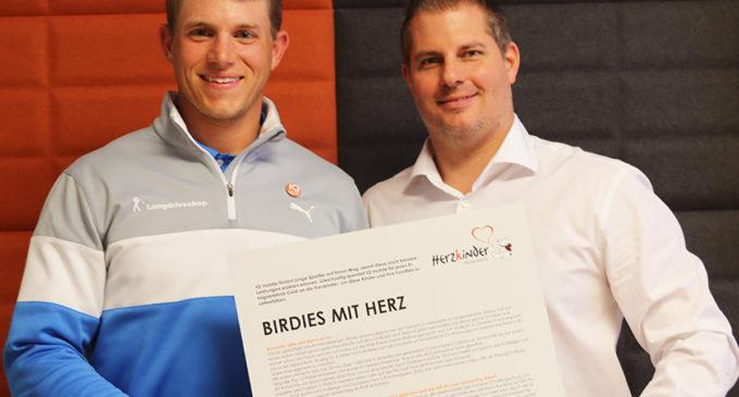 Birdies für einen guten Zweck – IQ mobile fördert Sport und unterstützt dabei Herzkinder