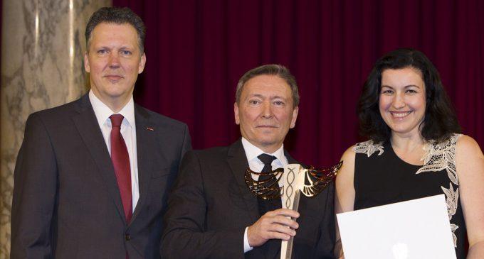 DPD Austria mit HERMES Verkehrs.Logistik.Preis 2017 ausgezeichnet