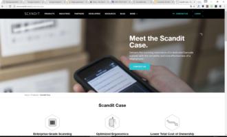 Scandit stellt neue Scan-Hülle für den iPod touch vor
