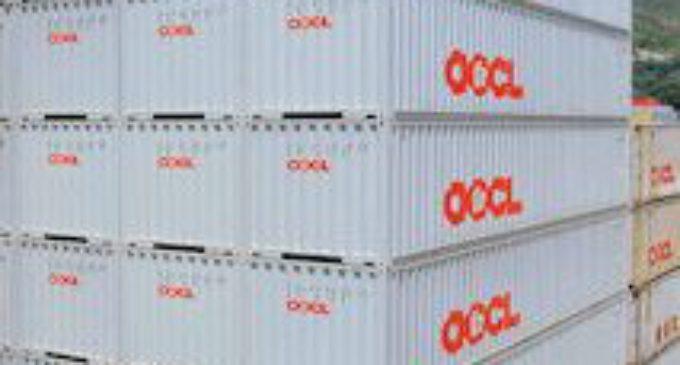 OOCL läuft das Container-Terminal Wilhelmshaven an
