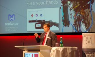 Europapremiere des Head Mounted Tablets: Barcotec launcht neue Dimension des mobilen Arbeitens
