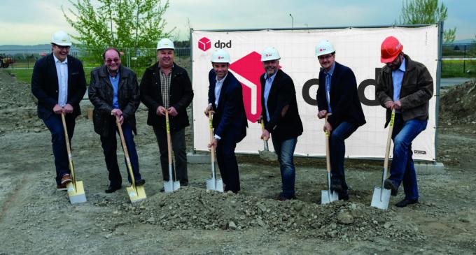 DPD Paketdienst erweitert Depot in Kalsdorf bei Graz