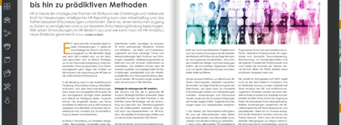 HR-Analytics – von intelligentem Reporting bis hin zu prädiktiven Methoden