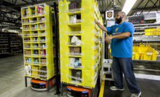 Amazon robotics for new Warrington site