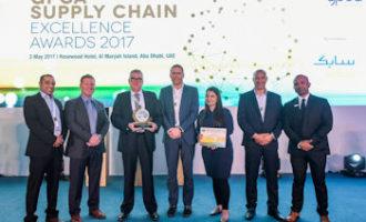 Talke erhält GPCA Supply Chain Excellence Award 2017