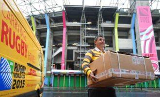 DHL erneut offizieller Logistikpartner der Rugby-Weltmeisterschaft 2019