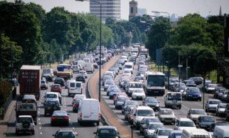 European road transport rates fall