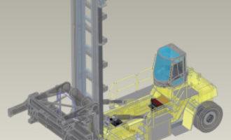 Hyster tests big electric trucks