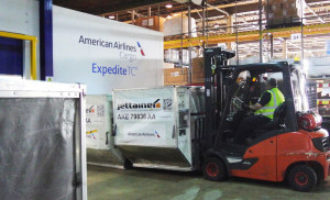 American Airlines opens Heathrow pharma facility