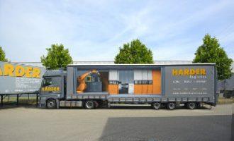 HARDER logistics investiert in acht neue Fahrzeuge – Bestes Ergebnis in der Firmengeschichte