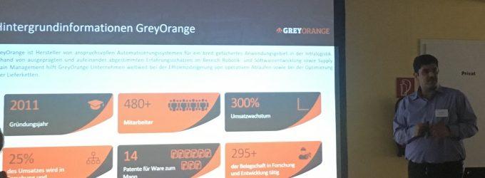 """IDIH – eCommerce/MultiChannel-Day"" bei GreyOrange in Hannover"