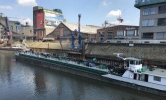 Rheincargo: Neue Ölverladung im Hafen Neuss