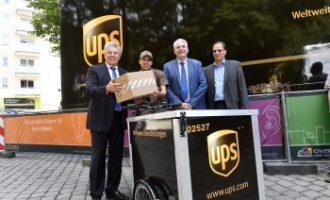 UPS startet in München Zustellung per Fahrrad