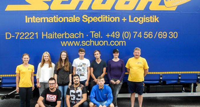 Investition in die Zukunft: Alfred Schuon GmbH begrüßt neue Auszubildende