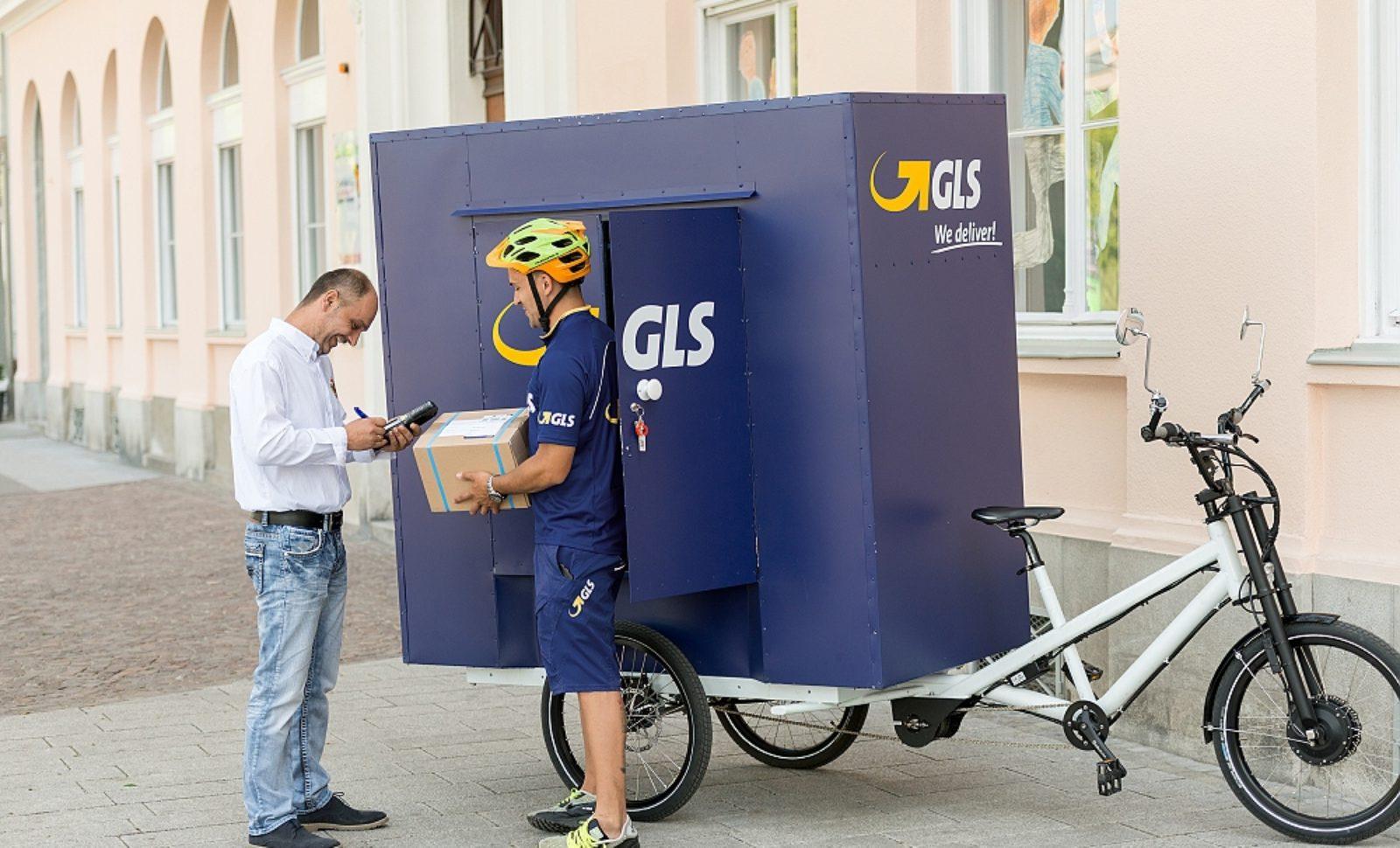 gls austria liefert pakete per fahrrad logistik express news. Black Bedroom Furniture Sets. Home Design Ideas