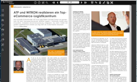 ATP und WITRON realisieren hochmodernes E-Commerce-Logistikzentrum First class Logistik für schnell wachsenden Pure Player
