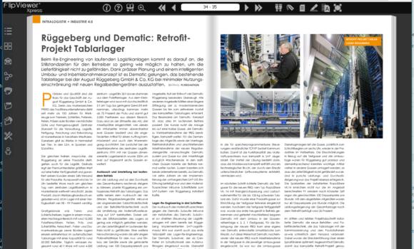 Dematic & Rüggeberg: Retrofit-Projekt Tablarlager
