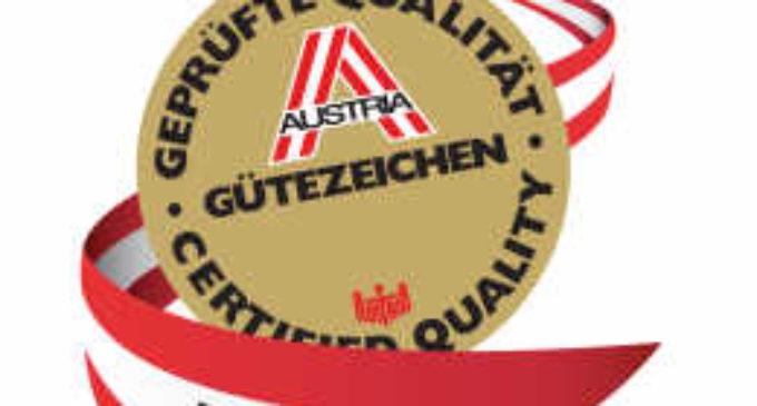 ÖQA – Quality Austria, Austria Gütezeichen Katalog 2017-1