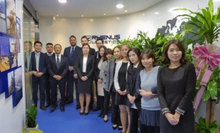 Rhenus eröffnet neuen Standort in Südkorea