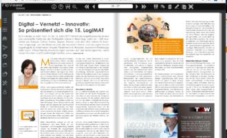 Digital – Vernetzt – Innovativ:  So präsentiert sich die 15. LogiMAT