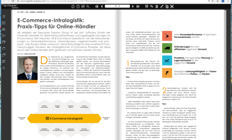 E-Commerce-Intralogistik:  Praxis-Tipps für Online-Händler
