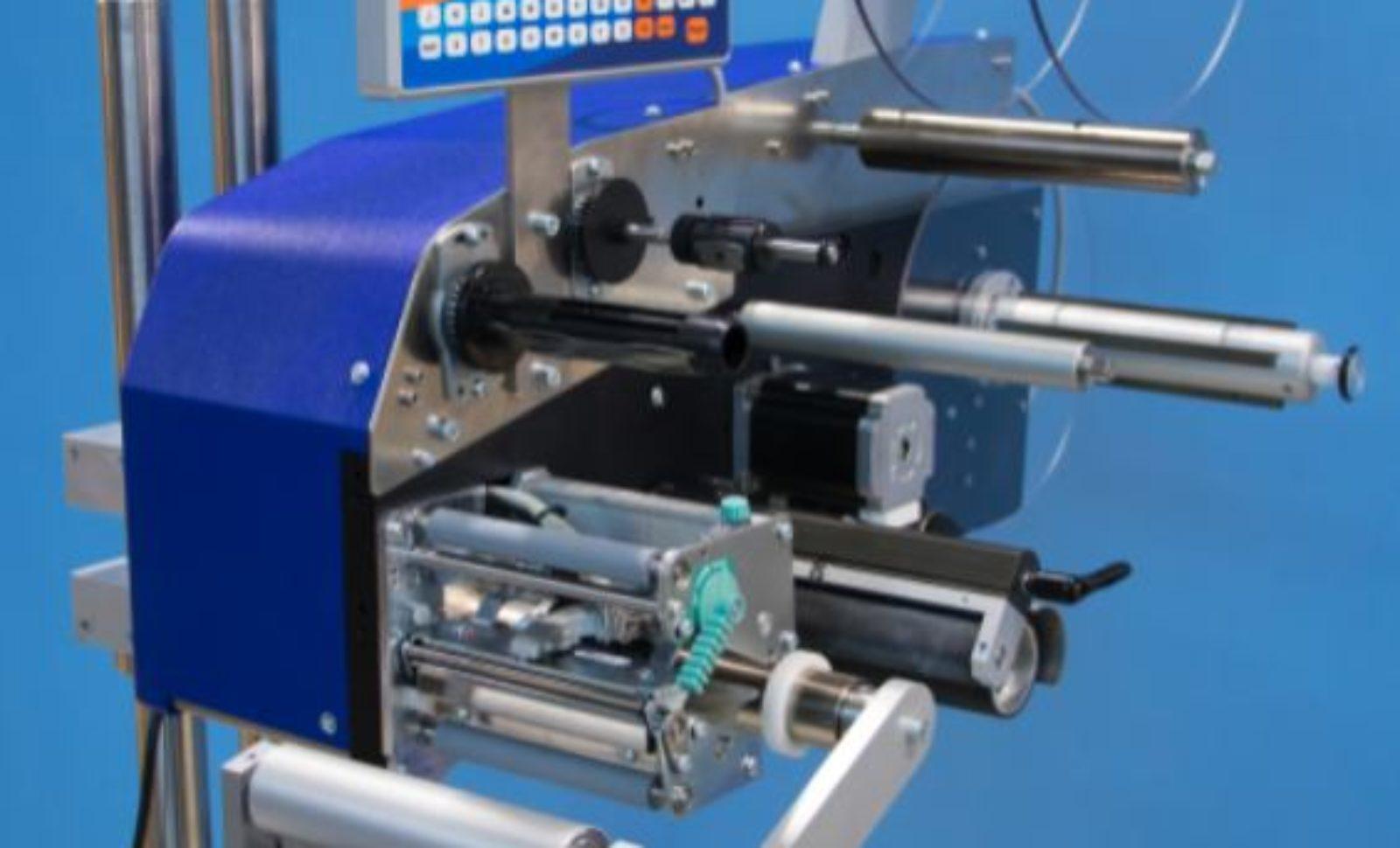 Neuer Druck- und Etikettenspender Zetes MD-15