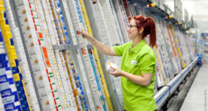 Erhöhte Durchsatzzahlen im neuen Logistikzentrum von DocMorris