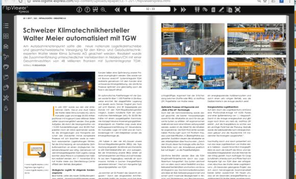 Schweizer Klimatechnikhersteller Walter Meier automatisiert mit TGW